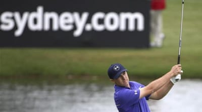 American Spieth shot a two-under 69 on day three [AP]