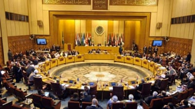 The Arab League statement did not specify when the resolution would be presented [EPA]