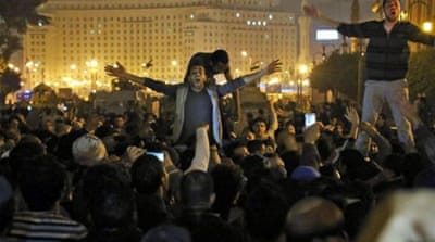 Protests after Mubarak murder charges dropped