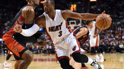 Wade scored 19 points, 11 rebounds and seven assists [Getty Images]