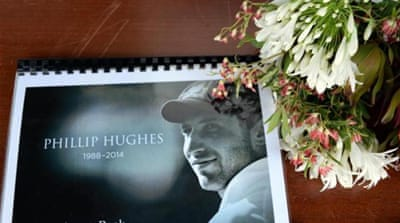 Hughes died in hospital two days after he was struck by a bouncer [AFP]