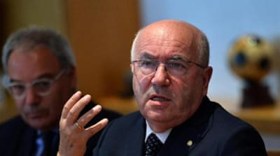 Tavecchio had swept to victory in the federation's elections despite the controversy [AFP]