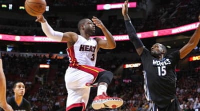 Wade's efforts helped Miami snap a two-game losing streak [Getty Images]