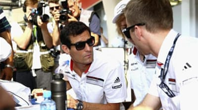 Webber hurt in high-speed crash