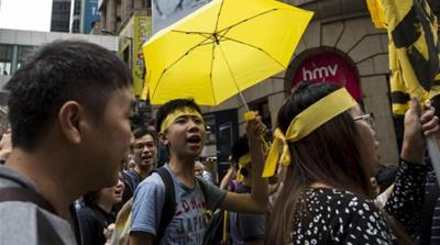 How Hong Kong's umbrella movement folded