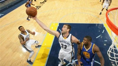 Gasol (#33) scored 24 points for Memphis [Getty Images]