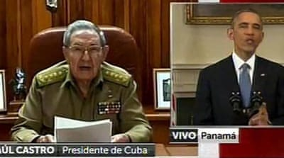 Castro urges US to lift embargo on Cuba