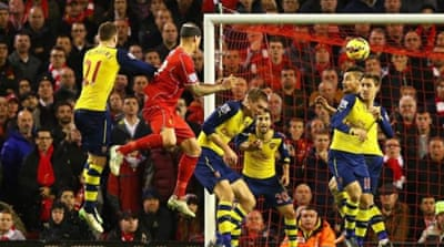 Skrtel headed the ball into the net in the 96th minute [Getty Images]