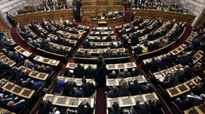 Greece parliament fails to elect president