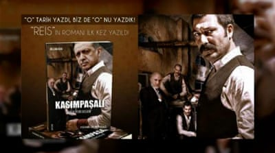 Erdogan's head photoshopped onto popular TV tough guy for novel