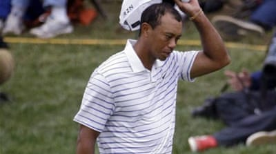 Woods has not won a major since 2008 [AP]