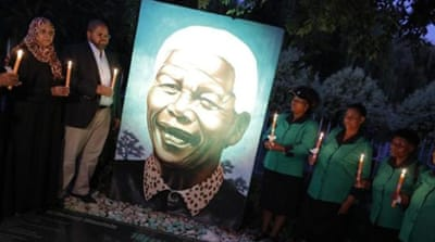 Mandela's death is being marked with a weekend of events and memorials [EPA]