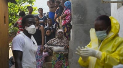 Ten doctors in Sierra Leone have died and hundreds of other health workers have been affected [EPA]