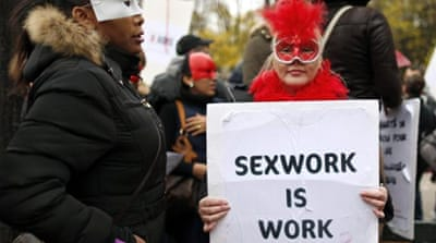 The rights of sex workers