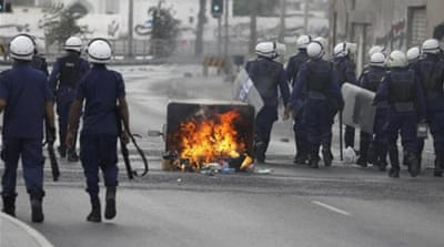 "Bahrain has jailed scores of Shia protesters on ""terrorism"" charges [Reuters]"