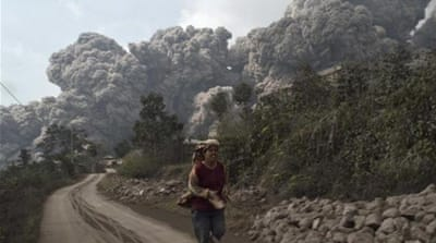 Deadly volcanic eruptions in Indonesia