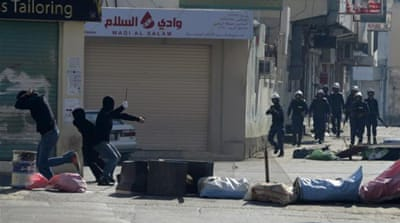 Several arrests have been reported by the Bahrain Centre for Human Rights and the interior ministry [EPA]