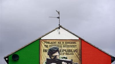 Last December, a small explosion in Belfast followed a telephoned warning, a hallmark of IRA attacks [AP]