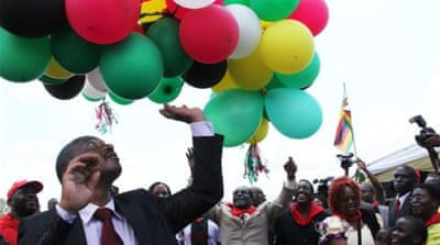 Mugabe's birthday is reserved to celebrate the president's role in the anti-colonial war [AP]