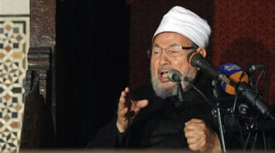 A Qaradawi aide said that no one contacted him over his remarks [Reuters]