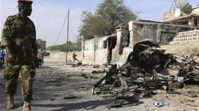 Al-Shabab attacks Somali presidential palace