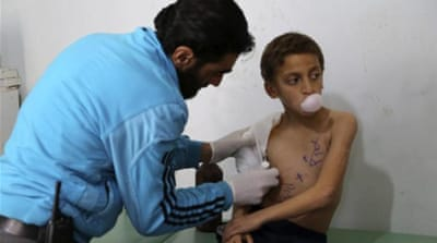 The exodus of Syrian doctors has meant many cannot receive the medical treatment they need [Reuters]
