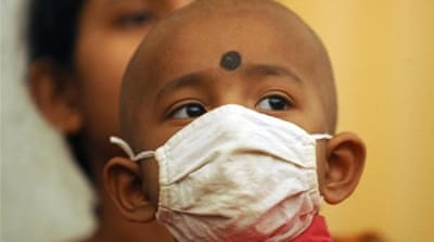 Almost half of all new cancer cases diagnosed in 2012 were in Asia [AP]