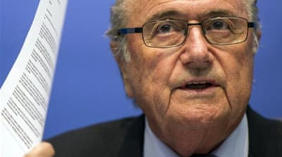 Oldie but a goodie? Blatter said age should be no barrier if he was the right man for the job [AP]