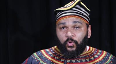 Dieudonne was accused of defamation for anti-Semitic statements made in an internet video from April 2010  [EPA]