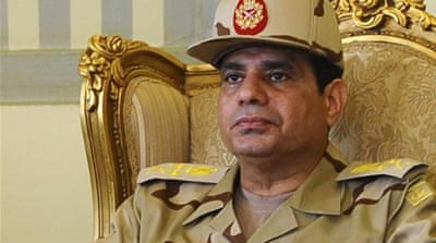 Sisi remains Egypt's defence minister