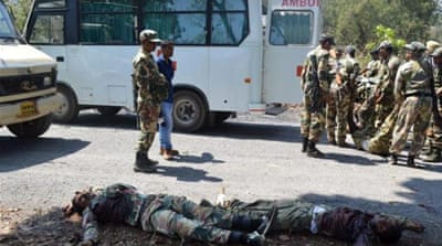 Deadly Maoist attack on Indian police