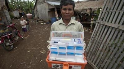 Some pharmaceuticals are not interested in making drugs for tropical diseases because of lower profits, writes the author [AP]