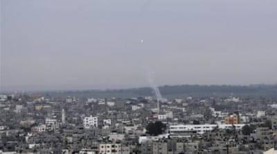 Israeli jets hit Gaza after heavy rocket fire