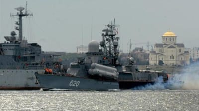 The West considers Russia's stealth presence today in Crimea illegal, writes Oskanian [AFP]