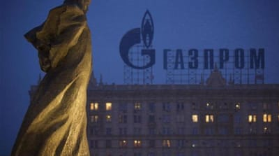 Last week, Gazprom cancelled the 37 percent rebate Vladimir Putin had offered to Kiev in December [AP]