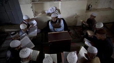 Pakistan is said to be home to 22,000 Islamic seminaries [AP]