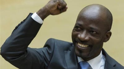 Ivory Coast's government handed Charles Ble Goude over to the International Criminal Court last week [Reuters]