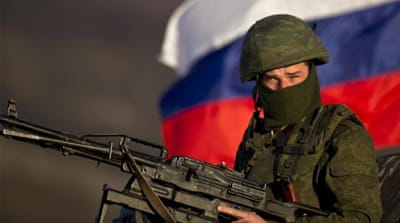 Russia accused of lies over troops in Ukraine
