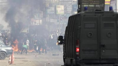 Egypt spreads blame for protest camp deaths