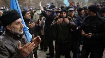 Crimean Tatars are a major force in the peninsula which cannot be ignored whatever outcome will prevail in the conflict, writes Gilfanov [AP]