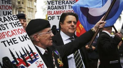 "Right-wing groups are able to get away with demonising Muslims easily. Even standing up to Islamophobia is often seen as a ""victim mentality"" by some, says the author [AP]"