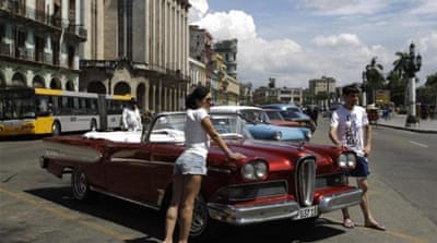 Cubans are moving more freely, travelling more frequently, and more of them are starting businesses and working independently, writes Bishara [AP]