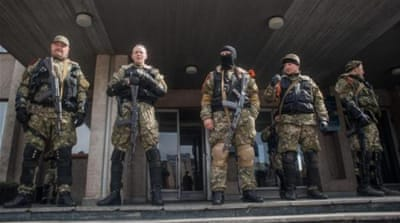 Ukraine: Forces ready for pro-Russia rebels
