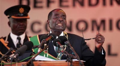 President Robert Mugabe has been accused of poor economic management [AFP]