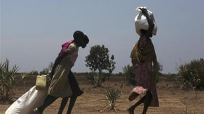 Nearly seven million people at risk of hunger according to the UN [Reuters]