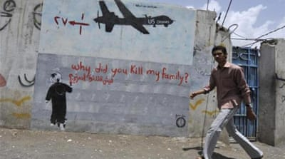 Yemen is among a handful of countries where the United States acknowledges using drones [EPA]