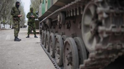 Ukraine orders military action in the east