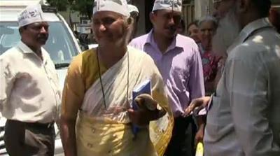 Web Exclusive: Medha Patkar on campaign trail