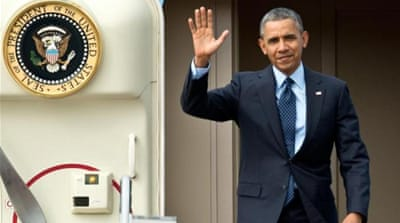 During the two-day visit, Obama will meet the prime minister and attend a state dinner at the National Palace [AP]