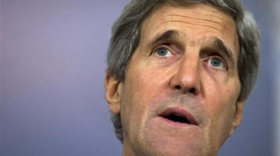 "Kerry warns Israel risks turning into ""an apartheid state"" or losing its Jewish identity [AP]"